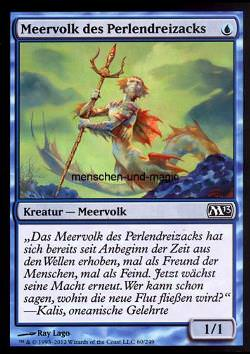 Meervolk des Perlendreizacks (Merfolk of the Pearl Trident)