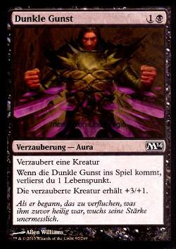 Dunkle Gunst (Dark Favor)