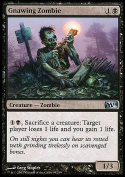 Gnawing Zombie (Abnagender Zombie)