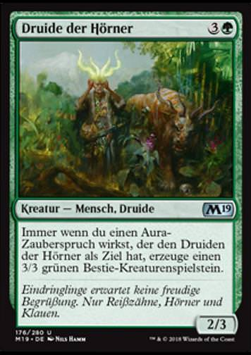 Druide der Hörner (Druid of Horns)