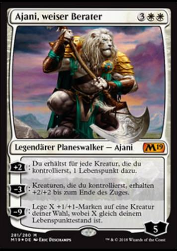 Ajani, weiser Berater (Ajani, Wise Counselor)