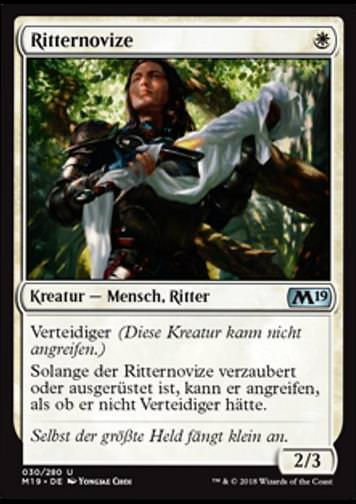 Ritternovize (Novice Knight)