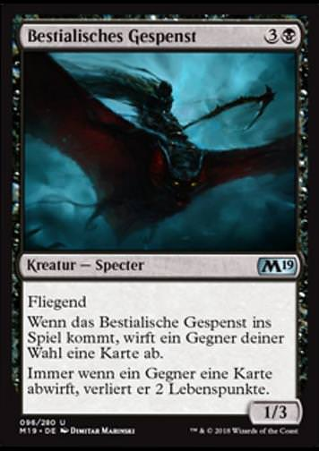 Bestialisches Gespenst (Fell Specter)