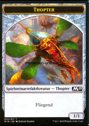 Token Artefakt Kreatur Thopter (Token Artifact Creature Thopter)
