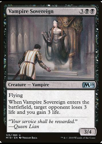 Vampire Sovereign (Vampirische Monarchin)