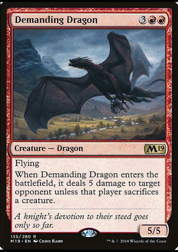 Demanding Dragon (Blutzolldrache)