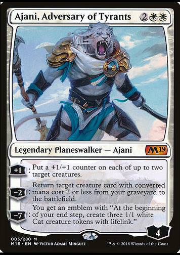 Ajani, Adversary of Tyrants (Ajani, Widersacher der Tyrannen)