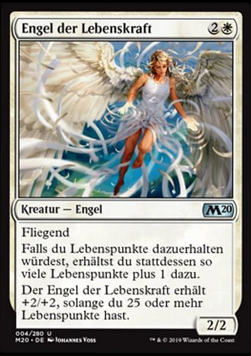 Engel der Lebenskraft (Angel of Vitality)