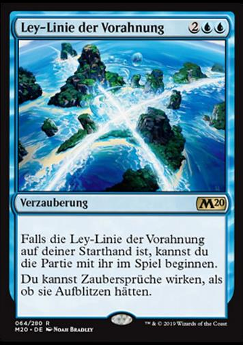 Ley-Linie der Vorahnung (Leyline of Anticipation)