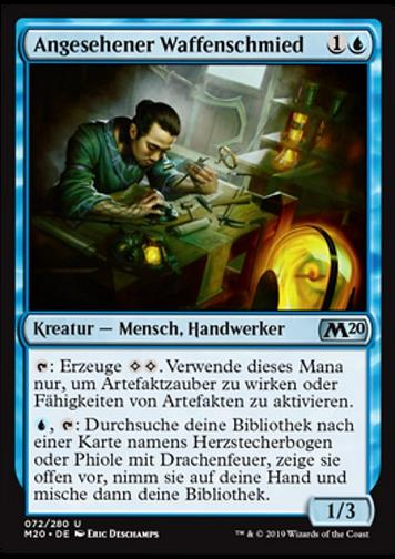 Angesehener Waffenschmied (Renowned Weaponsmith)