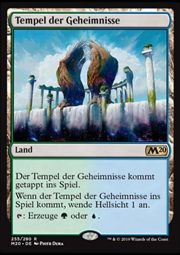 Tempel der Geheimnisse (Temple of Mystery)