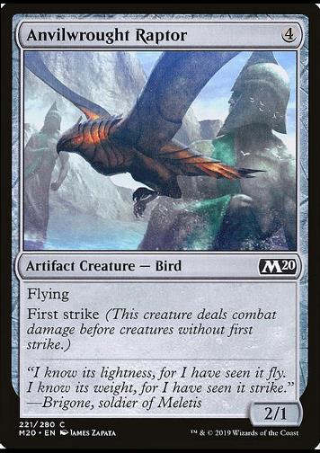 Anvilwrought Raptor (Schmiedeeiserner Raubvogel)