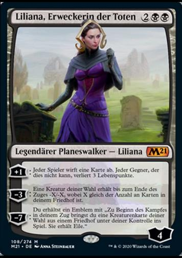 Liliana, Erweckerin der Toten v.1 (Liliana, Waker of the Dead)
