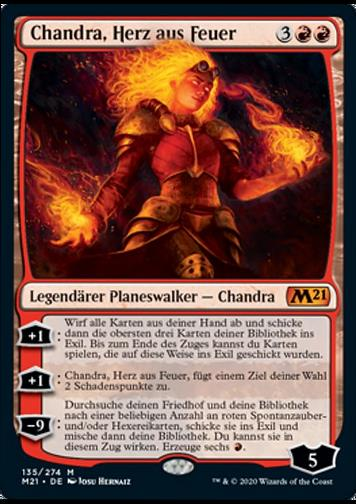 Chandra, Herz aus Feuer v.1 (Chandra, Heart of Fire)