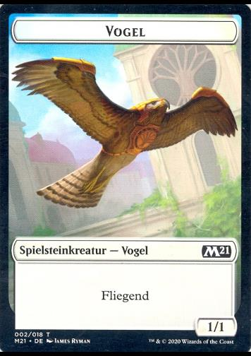 Token: Vogel (Bird)