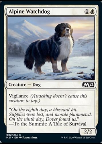 Alpine Watchdog (Alpiner Wachhund)