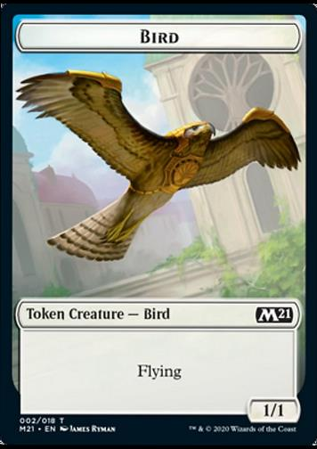 Token: Bird (Vogel)