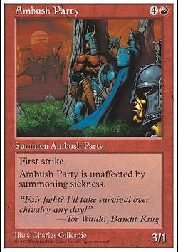 Ambush Party (Lauernde Räuber)