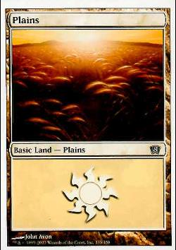 Plains Version 3 (Basic Land - Ebene)