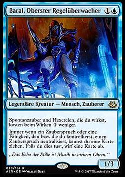 Baral, Oberster Regelüberwacher (Baral, Chief of Compliance)