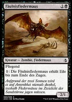 Fäulnisfledermaus (Blighted Bat)