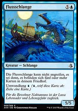 Flussschlange (River Serpent)