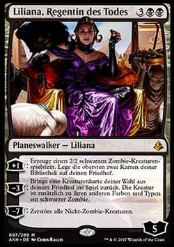 Liliana, Regentin des Todes (Liliana, Death's Majesty)