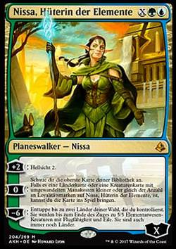 Nissa, Hüterin der Elemente (Nissa, Steward of Elements)