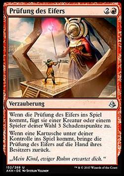 Prüfung des Eifers (Trial of Zeal)