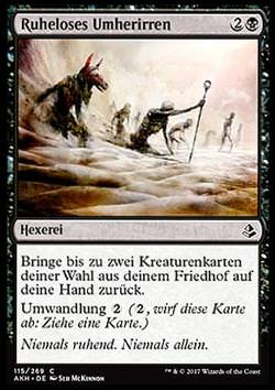 Ruheloses Umherirren (Wander in Death)