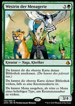 Wesirin der Menagerie (Vizier of the Menagerie)