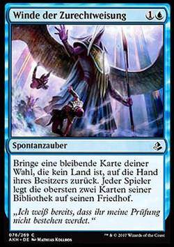 Winde der Zurechtweisung (Winds of Rebuke)
