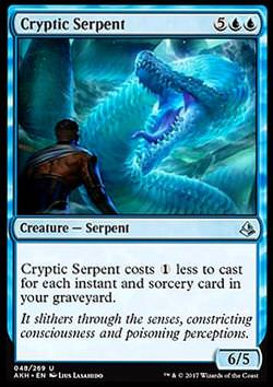 Cryptic Serpent (Kryptische Schlange)