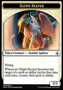 Token: Glyph Keeper (White 5/3)