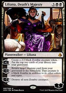 Liliana, Death's Majesty (Liliana, Regentin des Todes)