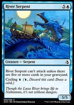 River Serpent (Flussschlange)