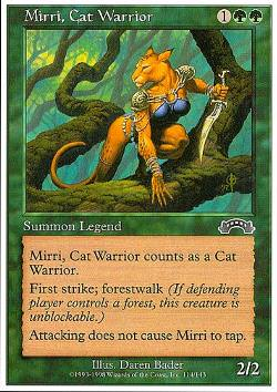 Mirri, Cat Warrior