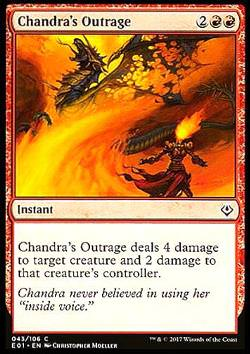Chandra\'s Outrage