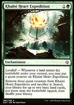 Khalni Heart Expedition, englisch, Archenemy: Nicol Bolas