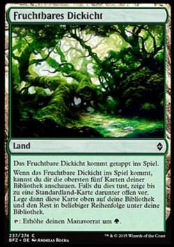 Fruchtbares Dickicht (Fertile Thicket)
