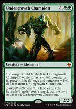 Undergrowth Champion (Unterholz-Champion)