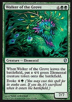Walker of the Grove (Wanderer des Hains)
