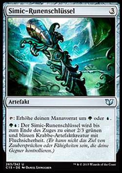 Simic-Runenschlüssel (Simic Keyrune)