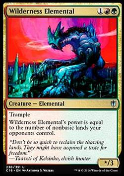 Wilderness Elemental (Wildniselementar)