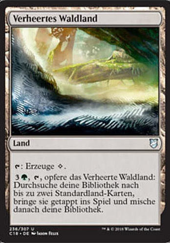 Verheertes Waldland (Blighted Woodland)
