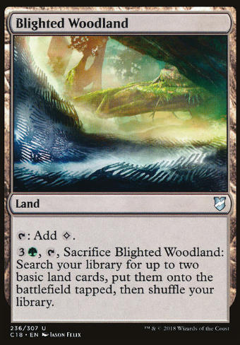 Blighted Woodland (Verheertes Waldland)
