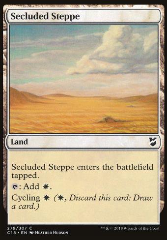 Secluded Steppe (Abgelegene Steppe)