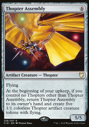 Thopter Assembly (Thopter-Baugruppe)