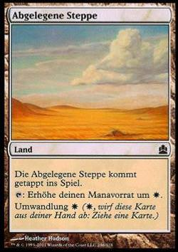 Abgelegene Steppe (Secluded Steppe)
