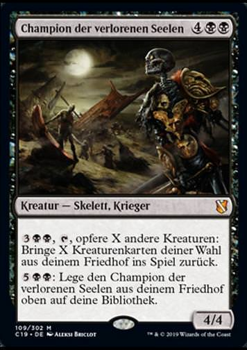 Champion der verlorenen Seelen (Champion of Stray Souls)